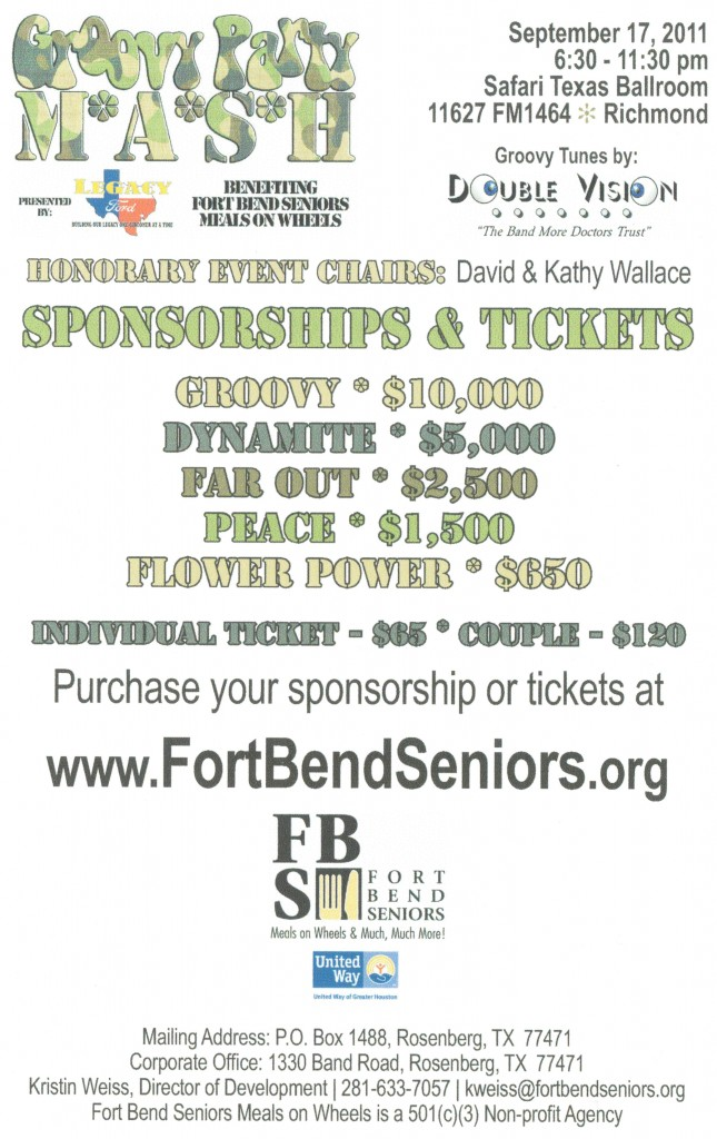 BestCare Ambulance Sponsoring Fort Bend Seniors